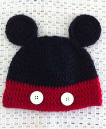 Buttercup From Knittingnani Little Mouse Cap For Boys - Black