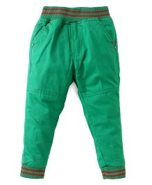 Olio Kids Full Length  Pants - Green
