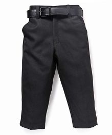 Robo Fry Trousers With Belt - Black