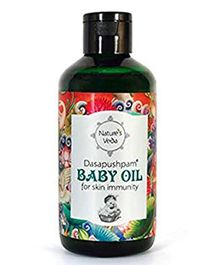 Nature's Veda Dasapushpam Baby Oil - 150 ml