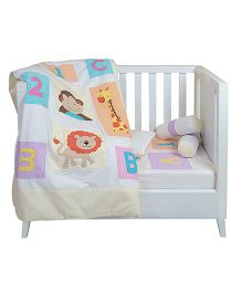 The Button Tree Jungle Book Cot 5 Piece Set - Multicolour
