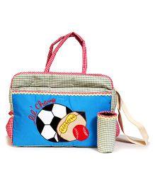 The Button Tree Lil Champ Diaper Bag - Multicolour