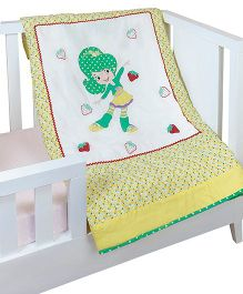 The Button Tree Lets Fly High Baby Quilts - Multicolour