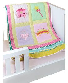 The Button Tree Princess Diarybaby Quilts - Multicolour