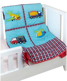 The Button Tree Drive & Flybaby Quilts - Multicolour