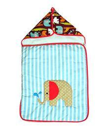 The Button Tree Baby Boo Jungle Safari Sleeping Bag - Multicolour