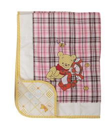 The Button Tree Pooh Baby Blankets - Multicolour