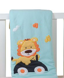 The Button Tree Wanna Drive Baby Blankets - Multicolour