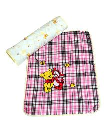 The Button Tree Cartoon Print Baby Mats Sets - Multicolour