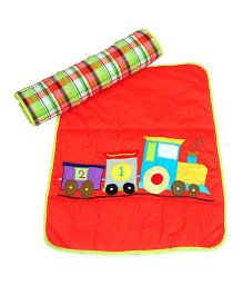 The Button Tree Joy Ride Baby Mats Sets - Orange