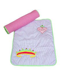 The Button Tree Princess Diary Baby Mats Sets - Blue