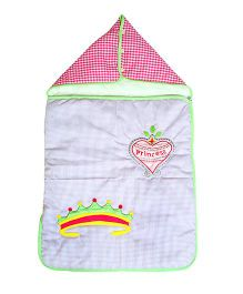 The Button Tree Princess Diary Sleeping Bag - Pink & Blue