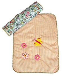 The Button Tree Forest Flower Shine Mats Sets - Light Brown