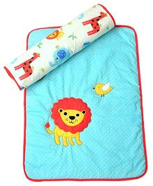 The Button Tree Jungle Pals Baby Mats Sets - Blue