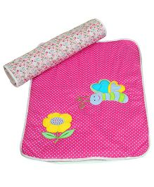 Tsp Button Tree Spring Time Baby Mats Sets - Pink
