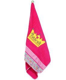 The Button Tree Princess Shine B Towel - Red