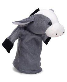 IR Hand Puppet Donkey Dark Grey - 46 cm