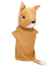 IR Hand Puppet Fox Brown - 43 cm