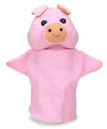 IR Hand Puppet Piggy Pink - 24 cm