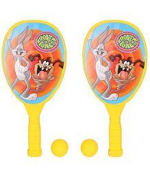 Looney Tunes Racket Set - Yellow