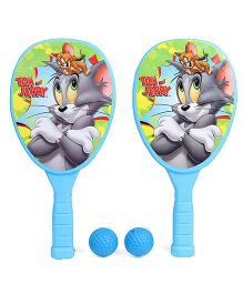 Warner Brother Tom And Jerry Racket Set - Blue & Green