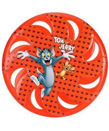Tom and Jerry Printed Flying Disc - Red