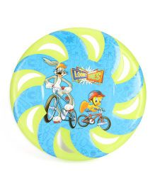 Looney Tunes Flying Disc Bunny And Tweety Print - Green And Blue