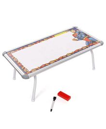 Super Man Tunes Write And Wipe Toy Board Table - Multicolor