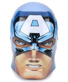 Marvel Avengers Captain America Shape Coin Bank - Blue