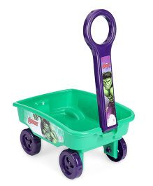Marvel Avengers Toy Wagon - Green Purple