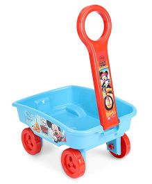 Disney Mickey Mouse Toy Wagon - Blue Orange