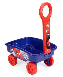 Marvel Spider Man Toy Wagon - Blue Orange