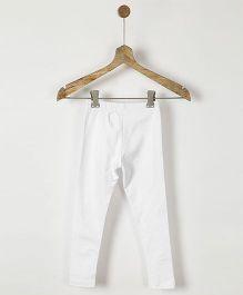 Pluie Cotton Tights - White