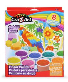 Craz-Art Finger Paints - Multicolor