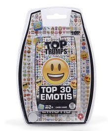 Top Trumps Emotis Card Games - 30 Pieces
