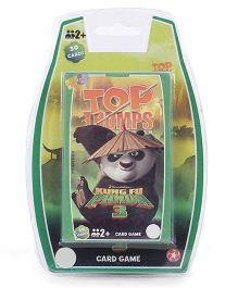 Top Trumps Kung Fu Panda Card Games - 30 Cards