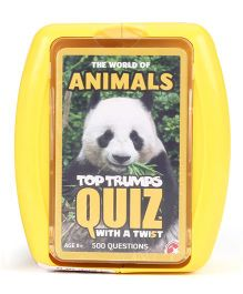 Top Trumps Animals Quiz - Yellow
