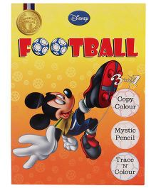 Disney Football 3 In 1 Activity And Coloring Book - English