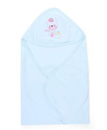Simply Hooded Wrapper - Sky Blue