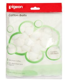 Pigeon Cotton Balls - 100 Pieces