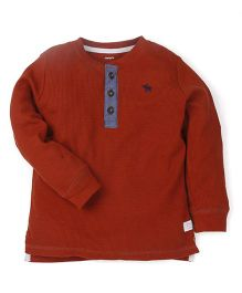 Carter's Full Sleeves T-Shirt - Brown