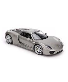 Welly Porsche 918 Spyder Toy Car - Grey