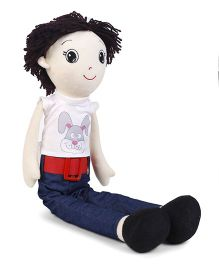 Gemini Toys Candy Doll White Blue - 48 cm