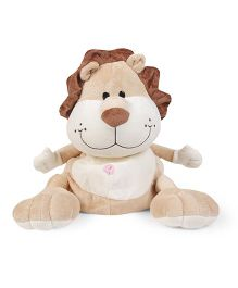 Play N Pets Kids Back Pack Lion Design - Brown Cream