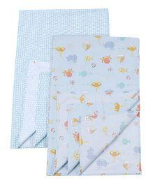 Babyoye Wrapper Pack of 2 - Blue