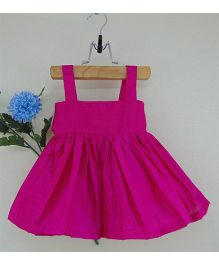 Tiny Toddler Silk Camisole Party Dress - Pink