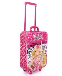 Mattel Barbie Fashionista Luggage Bag - Pink