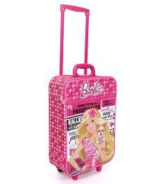 Mattel Barbie Fashionista Luggage Bag - Pink