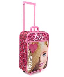 Mattel Barbie Follow your Heart Luggage Bag - Pink