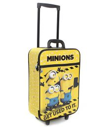 Minions Trio Luggage Bag - Yellow